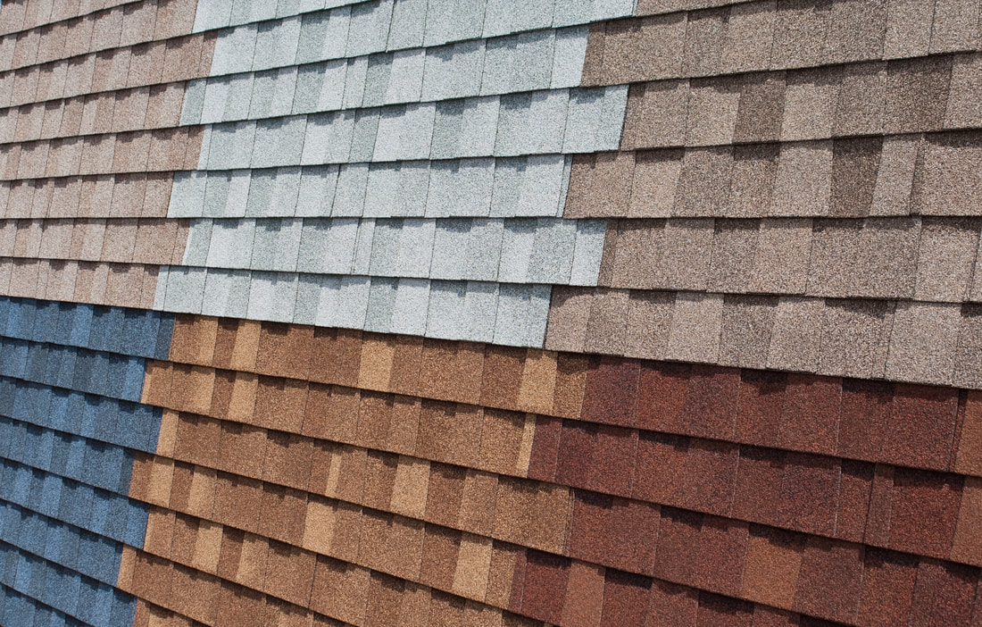 color selection of shingles